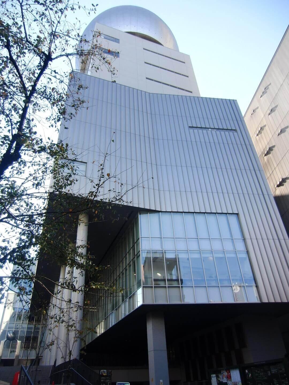 コスモプラネタリウム渋谷 外観