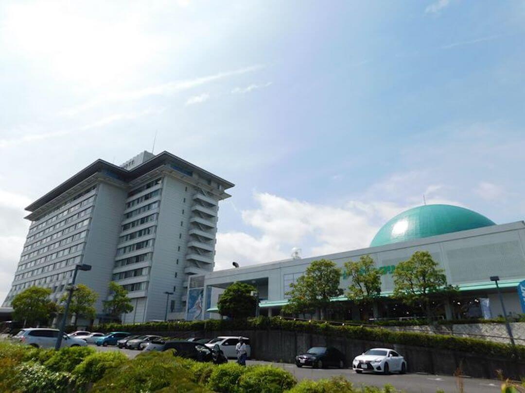 デジタルスタードーム ほたる(琵琶湖マリオットホテル) 外観