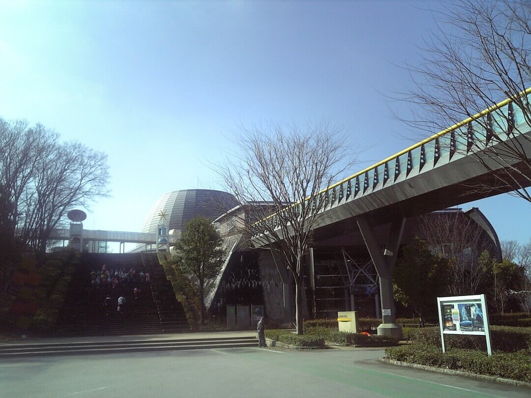 山梨県立科学館 外観