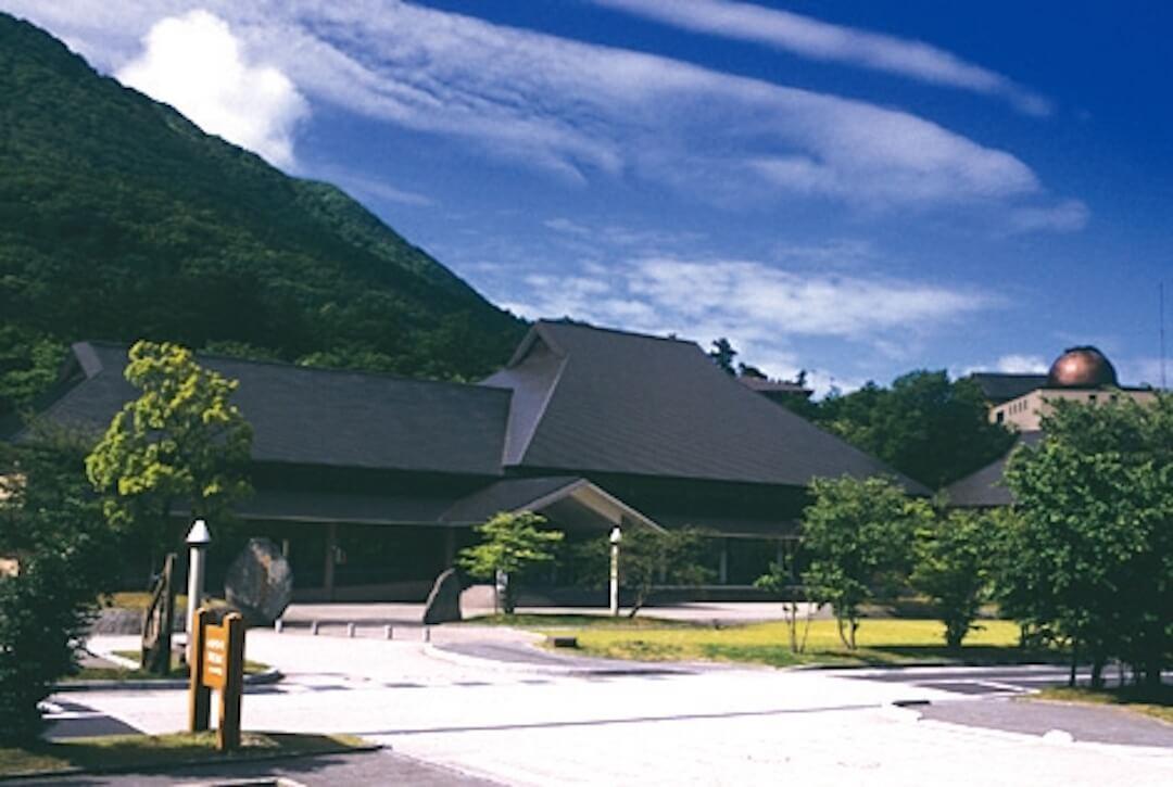 島根県立三瓶自然館サヒメル 外観
