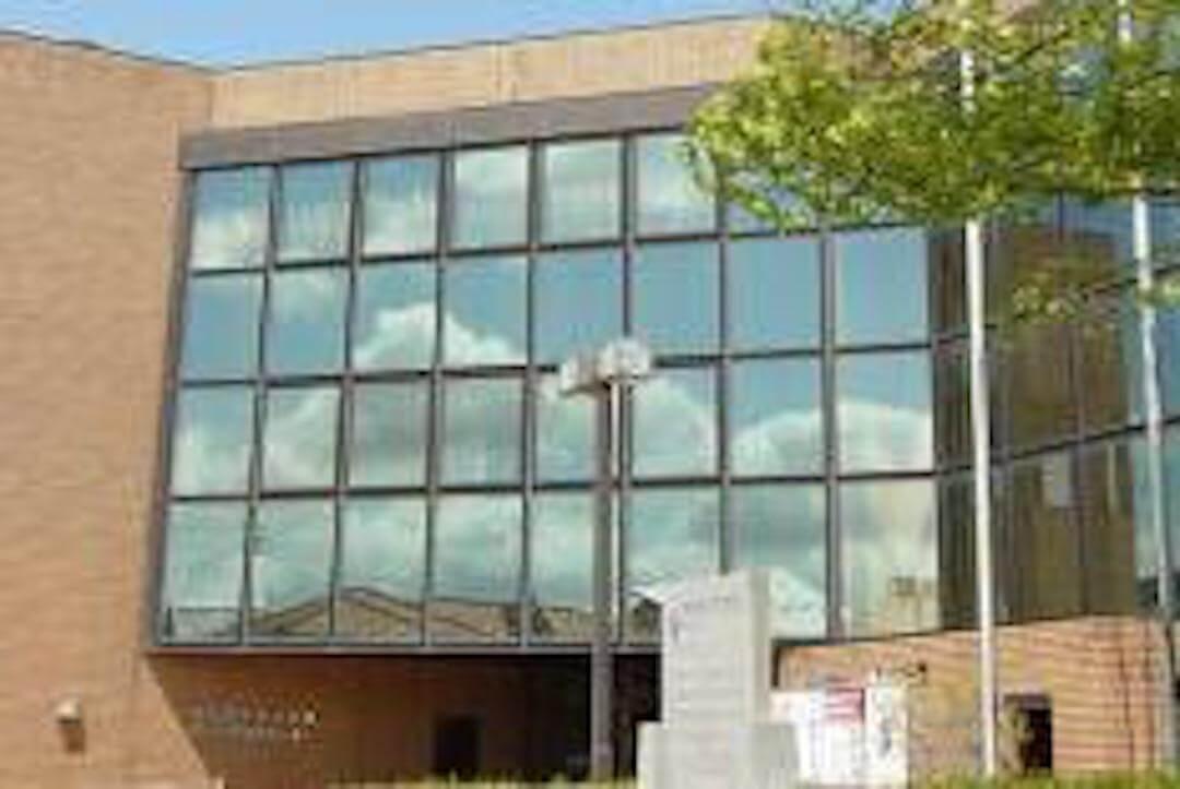 鶴岡市中央公民館 外観
