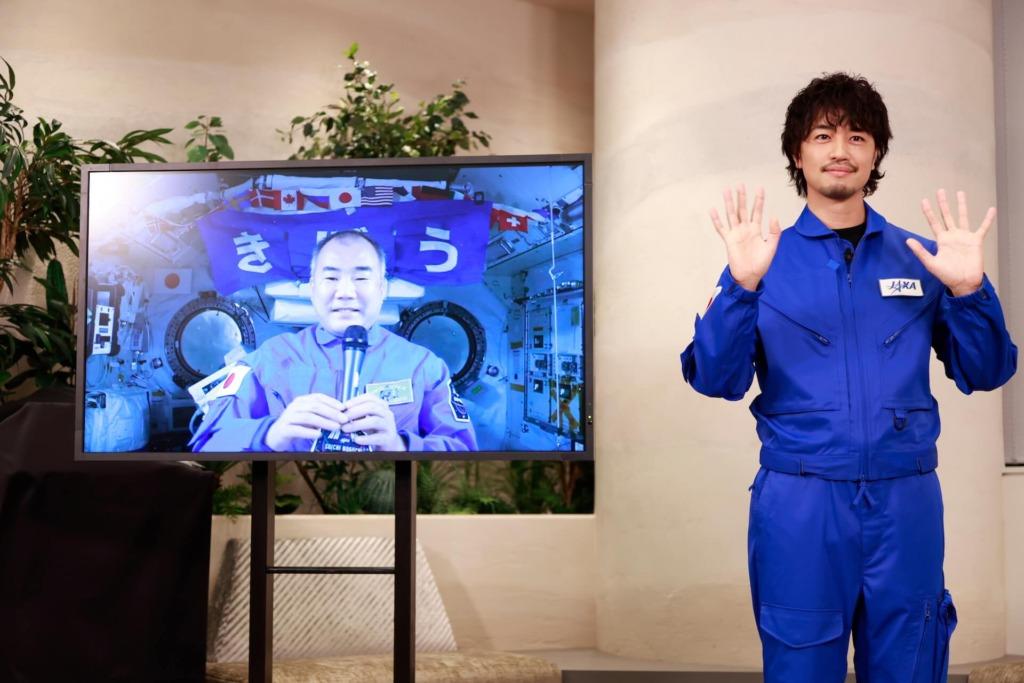 斎藤工と野口宇宙飛行士